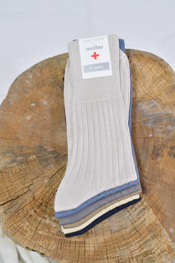 calza sanitario uomo circolazione sanguigna made in Italy