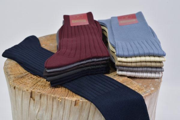 calza uomo elgante cotone