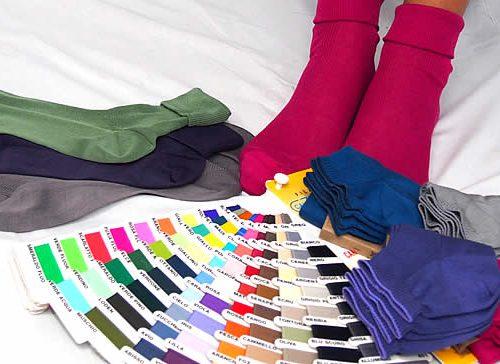 colori moda calze cotone