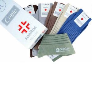 Calza Sanitaria made in Italy in filo di scozia maglia rasa